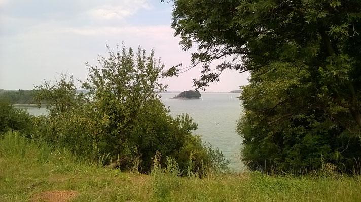 Pohlad na dźensyši spjaty jězor na Sprjewi (foto wot Dr. Baala Müllera)
