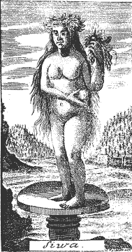 Žiwa (wobraz z lěta 1740)
