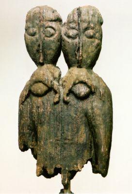 Slawisches Idol von der Fischerinsel (Tollensesee in Mecklenburg-Vorpommern)