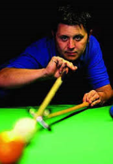 MARIO GEUDENS ... snooker and fun, but boy what a talent