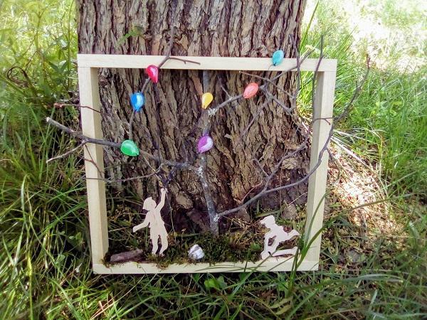 cadre décoratif : les enfants