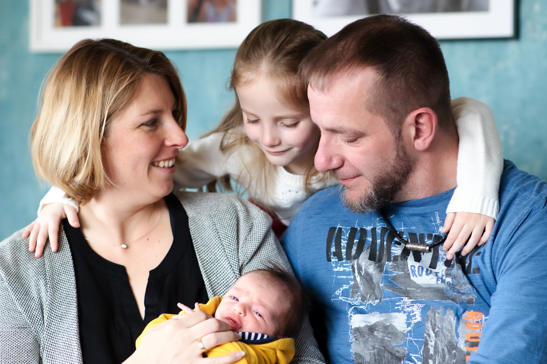 Familienfotografie bei Biberach