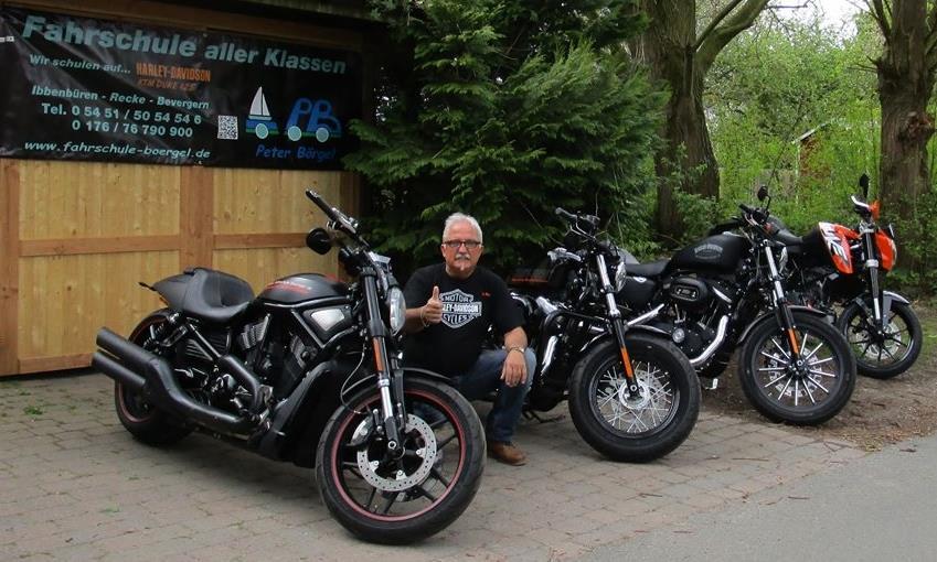 Motorrad Fuhrpark
