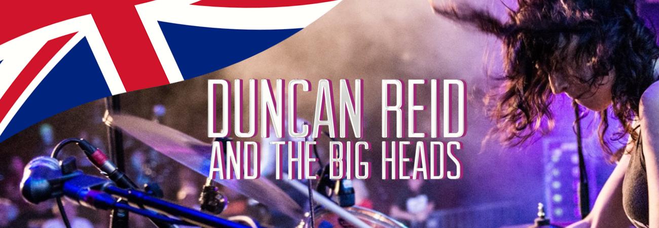 Ein internationales Highlight in Cuxhaven: Duncan Reid mit Band (UK), VA Rocks (SWE), Axid Rain (DE)