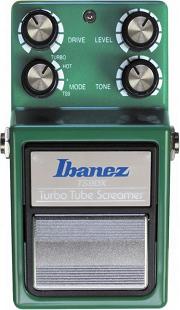 おすすめ歪み系エフェクター Ibanez TS9DX ターボ・チューブスクリーマー