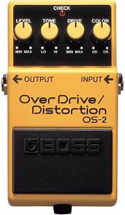 おすすめ歪み系エフェクター BOSS OS-2 オーバードライブ/ディストーション