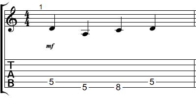 【初心者】ギターアドリブ講座 音型トレーニング 音型3-1