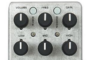 MXR M116 フルボア・メタル エフェクトつまみ