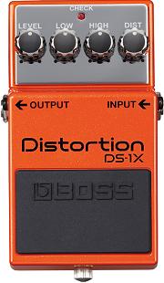 おすすめ歪み系エフェクター BOSS DS-1X ディストーション
