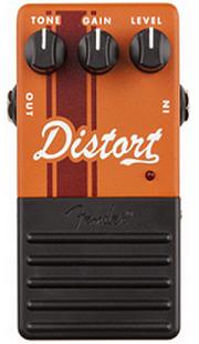 おすすめ歪み系エフェクター Fender Competition ディストーション・ペダル