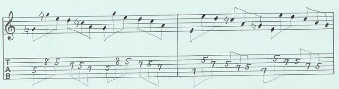 【初心者】ギターアドリブ入門講座 三連符トレーニング(2)3