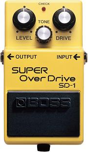 おすすめ歪み系エフェクター BOSS SD-1 スーパーオーバードライブ