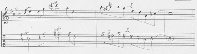 【初心者】ギターアドリブ入門講座 マイナーペンタトニック・フレーズ2-1