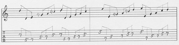 【初心者】ギターアドリブ入門講座 三連符トレーニング(3)3