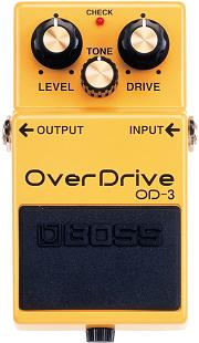 おすすめ歪み系エフェクター BOSS OD-3 オーバードライブ