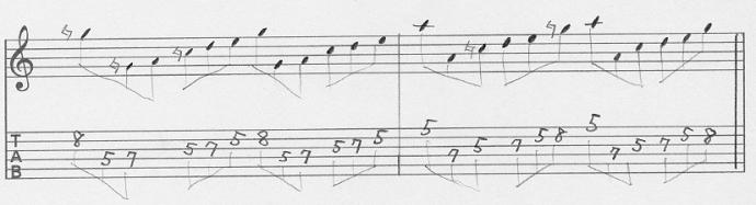 【初心者】ギターアドリブ入門講座 三連符トレーニング(3)4