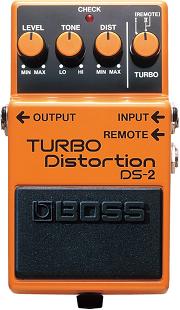おすすめ歪み系エフェクター BOSS DS-2 ターボ・ディストーション