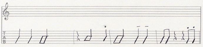 【初心者】リズムギター カッティング リズム練習