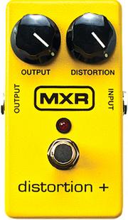 おすすめ歪み系エフェクター MXR M104 ディストーション・プラス