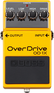 おすすめ歪み系エフェクター BOSS OD-1X オーバードライブ