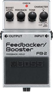 おすすめ歪み系エフェクター BOSS FB-2 フィードバッカー/ブースター