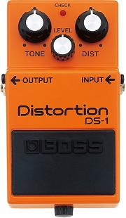 おすすめ歪み系エフェクター BOSS DS-1 ディストーション