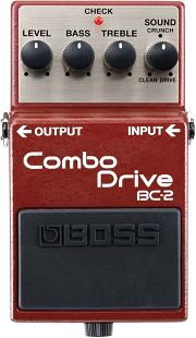 おすすめ歪み系エフェクター BOSS BC-2 コンボ・ドライブ