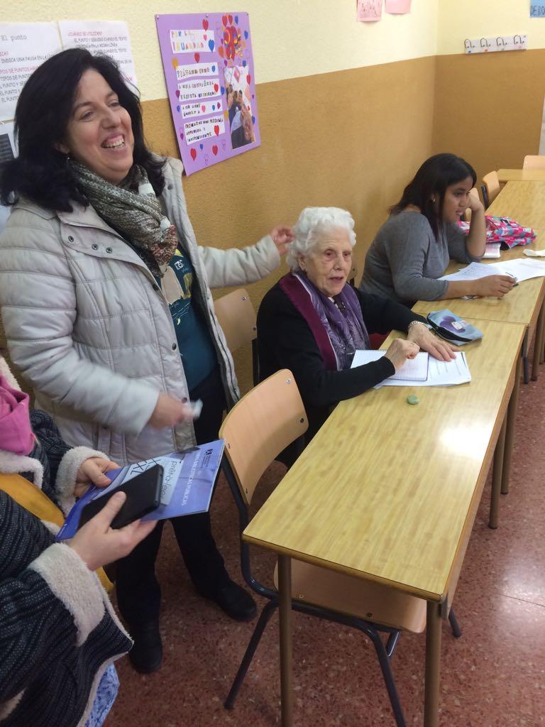 Corso di alfabetizzazione iniziale al CEPA TETUÁN - Madrid