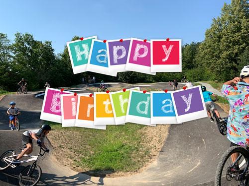 Happy Birthday lieber Pumptrack!