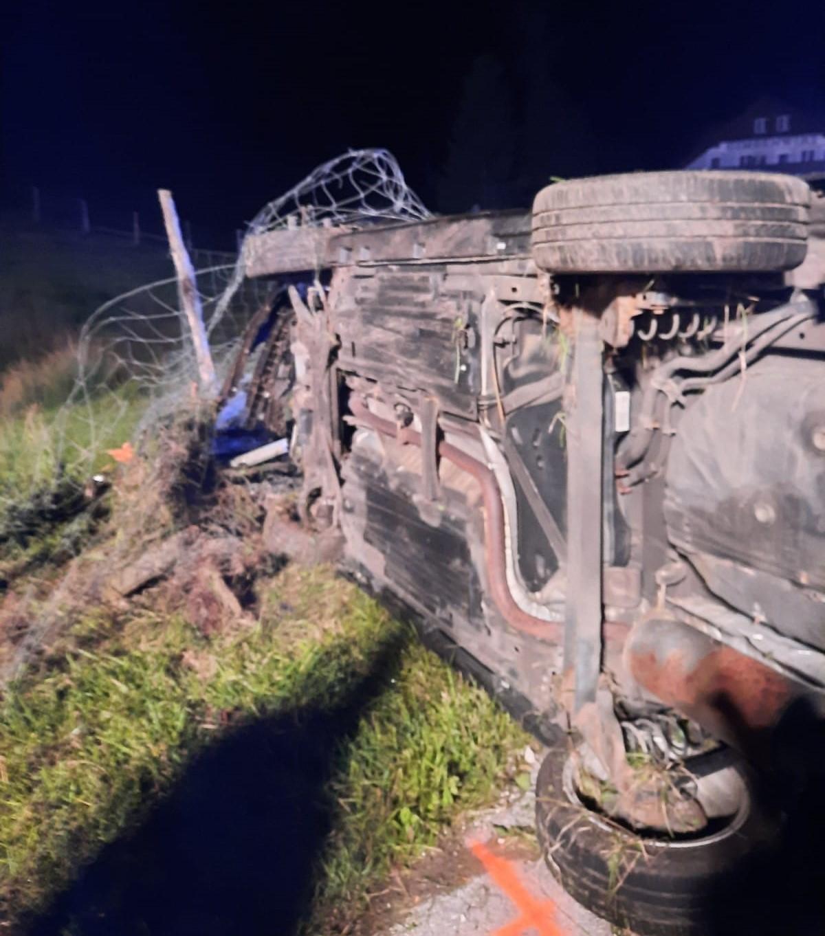 Verkehrsunfall auf der B158 in St.Gilgen