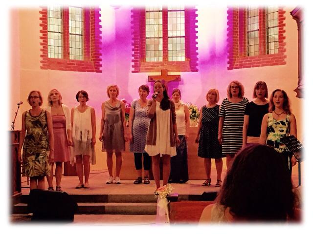 Rising Ensemble in der St Paulus Kirche
