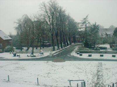 Der Binnensiel im Winter 2001