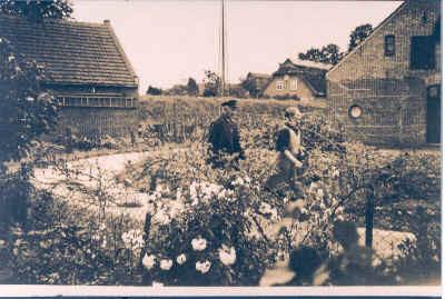 Dauelsberg Nr. 1, Haus Sepp Kretschmer, Bauplatz Enno Janßen, früher Fritz Kording, Photo: Fam. Göken