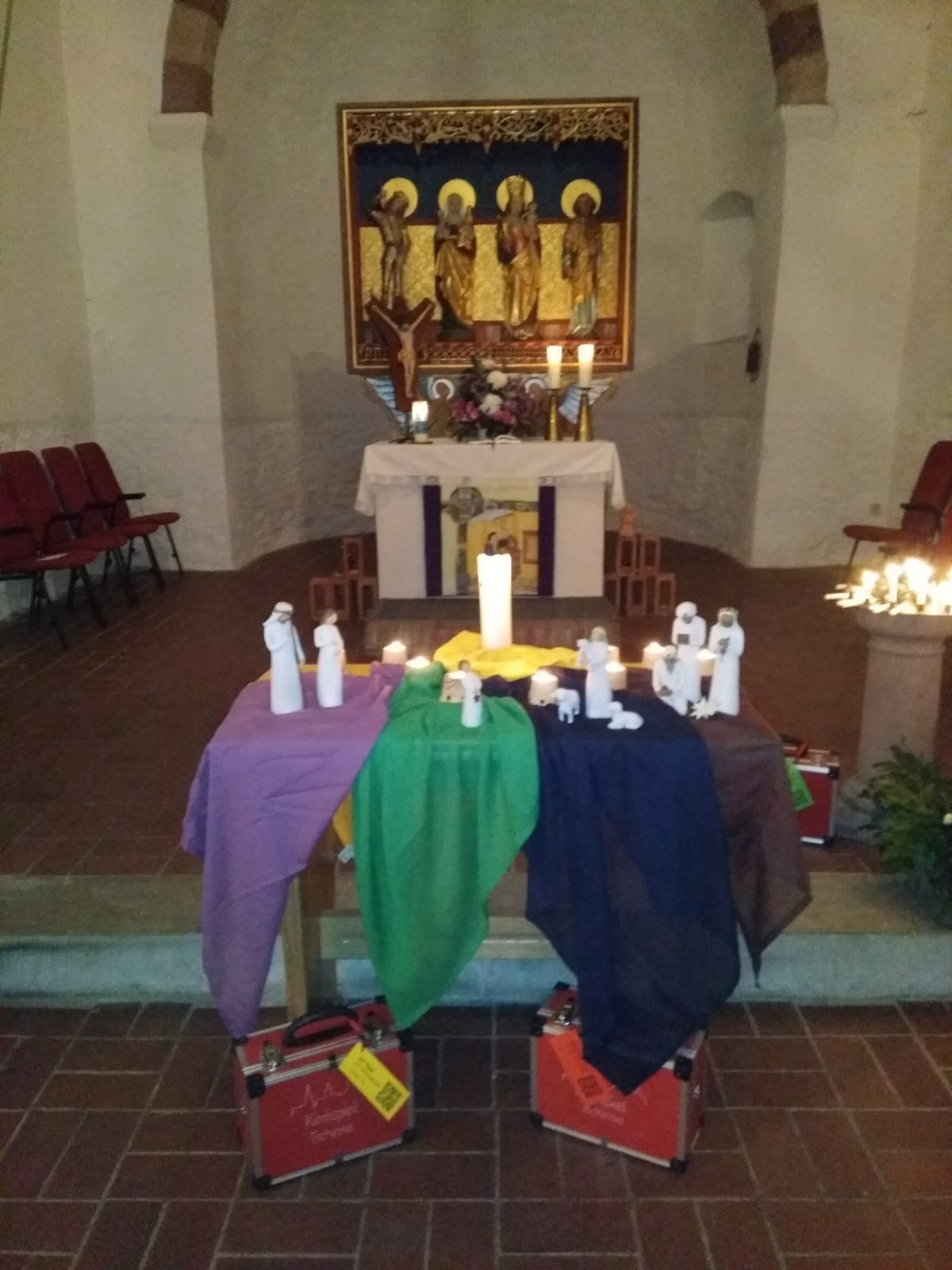 1.Advent Kirche Tschirma