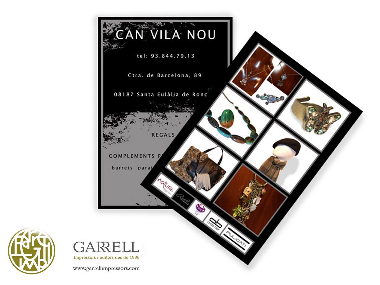 Postal per a Can Vila Nou