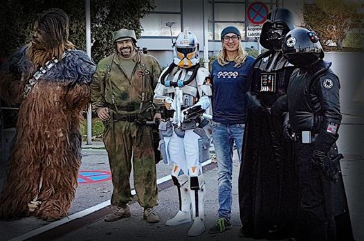 Meet and Greet mit Star Wars Chewbacca, Stormtrooper Anakin Skywalker u.v.m. auf der COMIX 2017