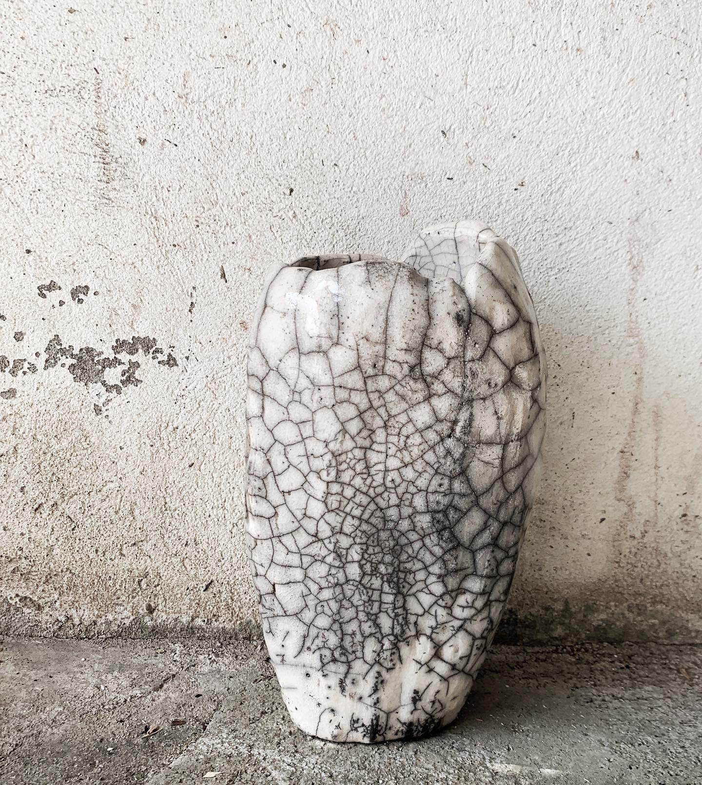 RAKU - Vase