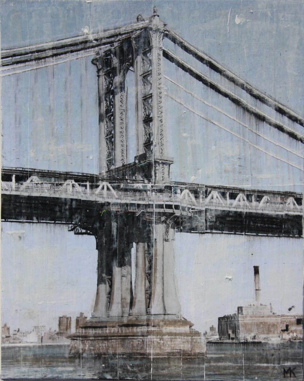 New York - Brücke (24x30cm)
