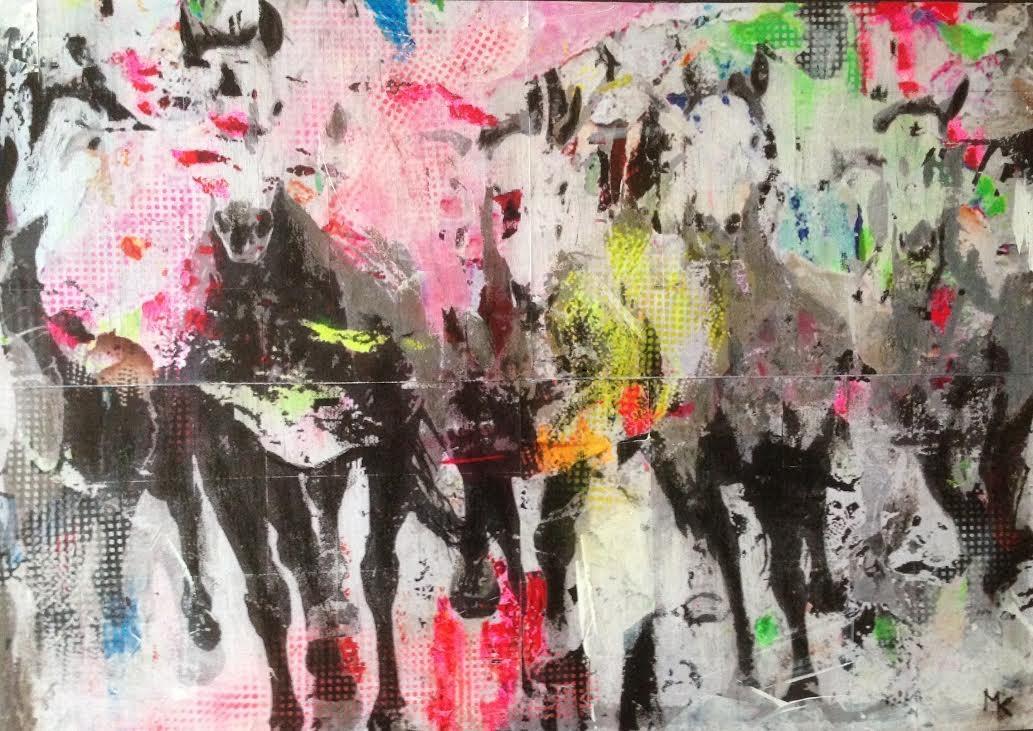 Wild Horses_50x70cm