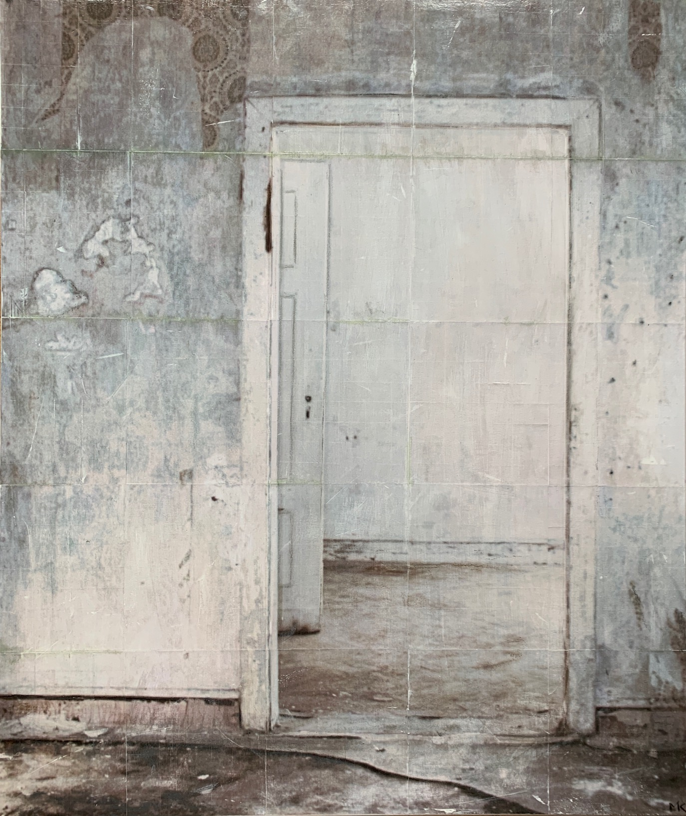 White open Space_100x120cm