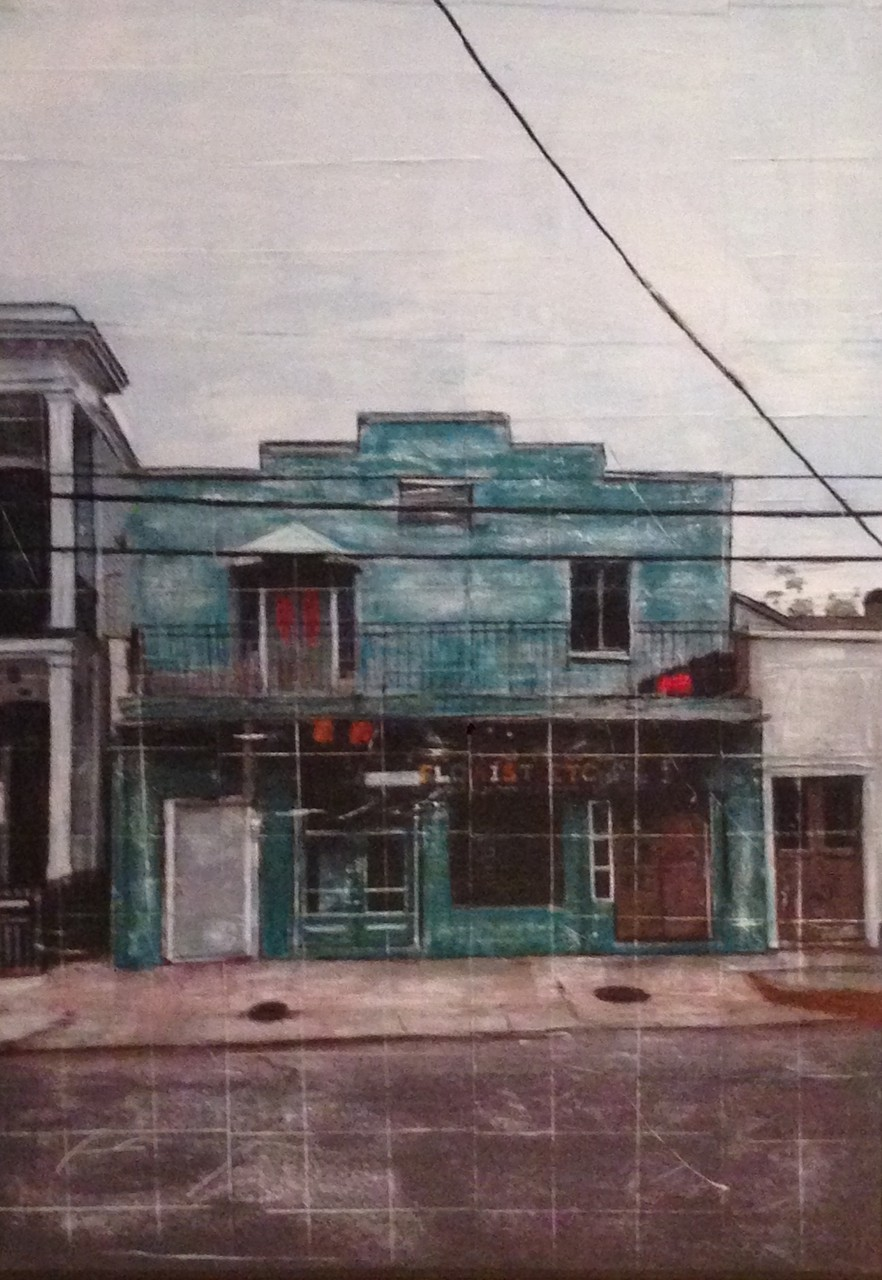 New Orleans - Flower Shop (100x140cm)