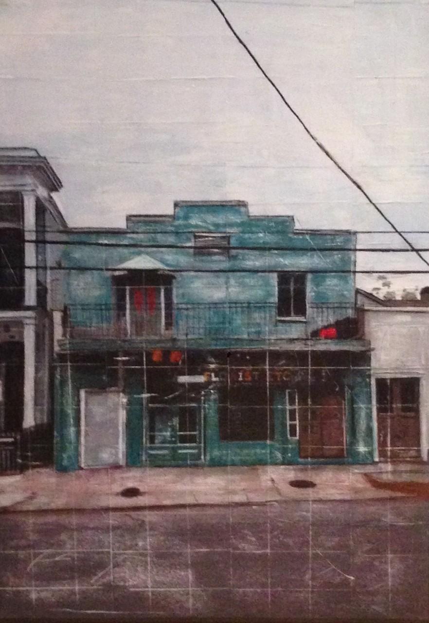 New Orleans - Flower Shop (100x140cm)