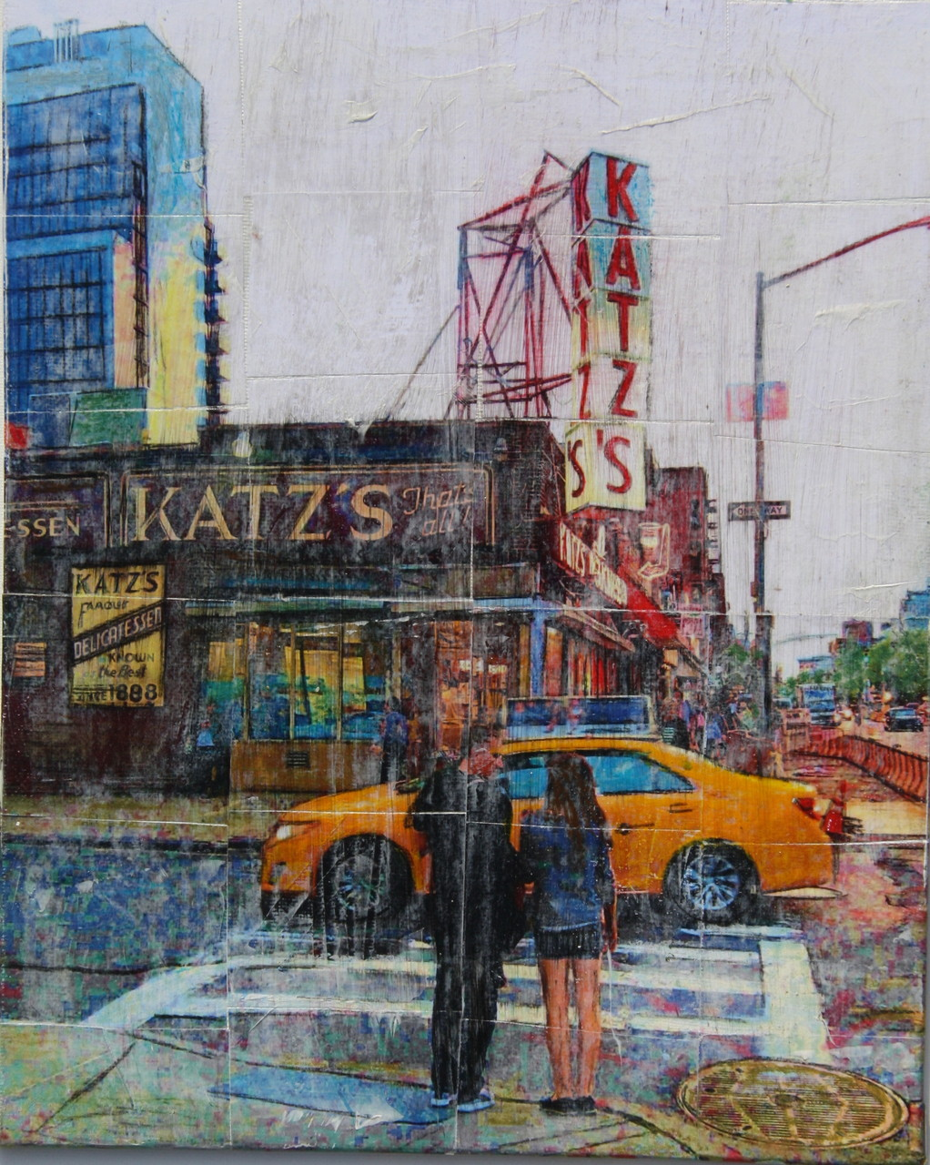 New York  - Katz (100x120cm)
