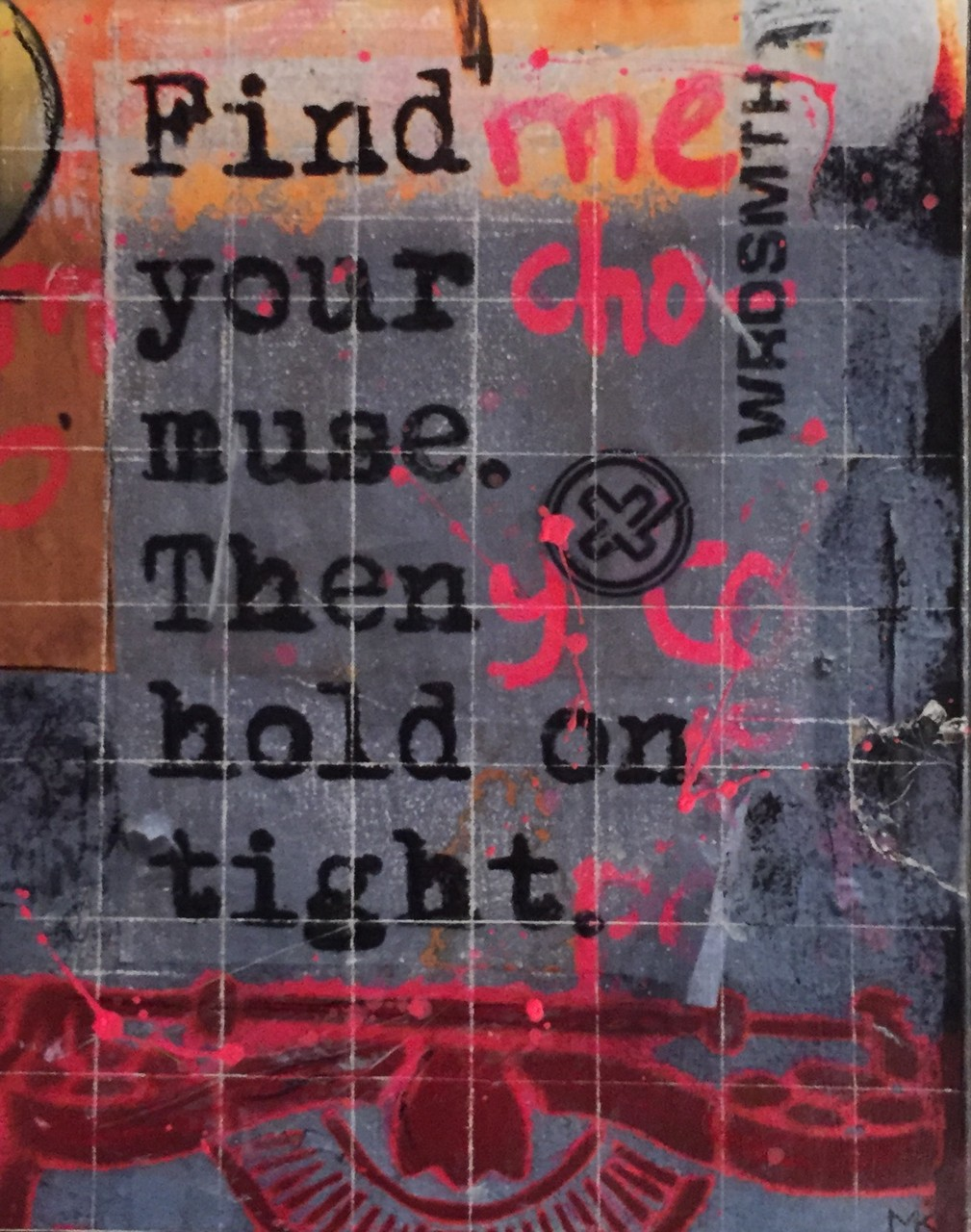 London_Find your Muse_24x30cm