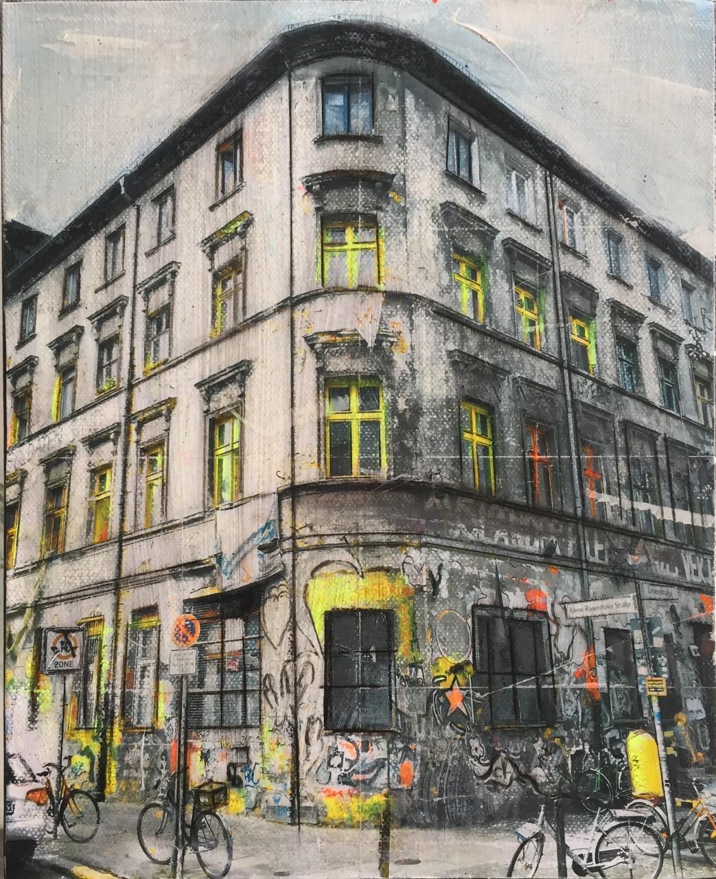 Berlin - Rosenthalerstrasse (24x30cm)