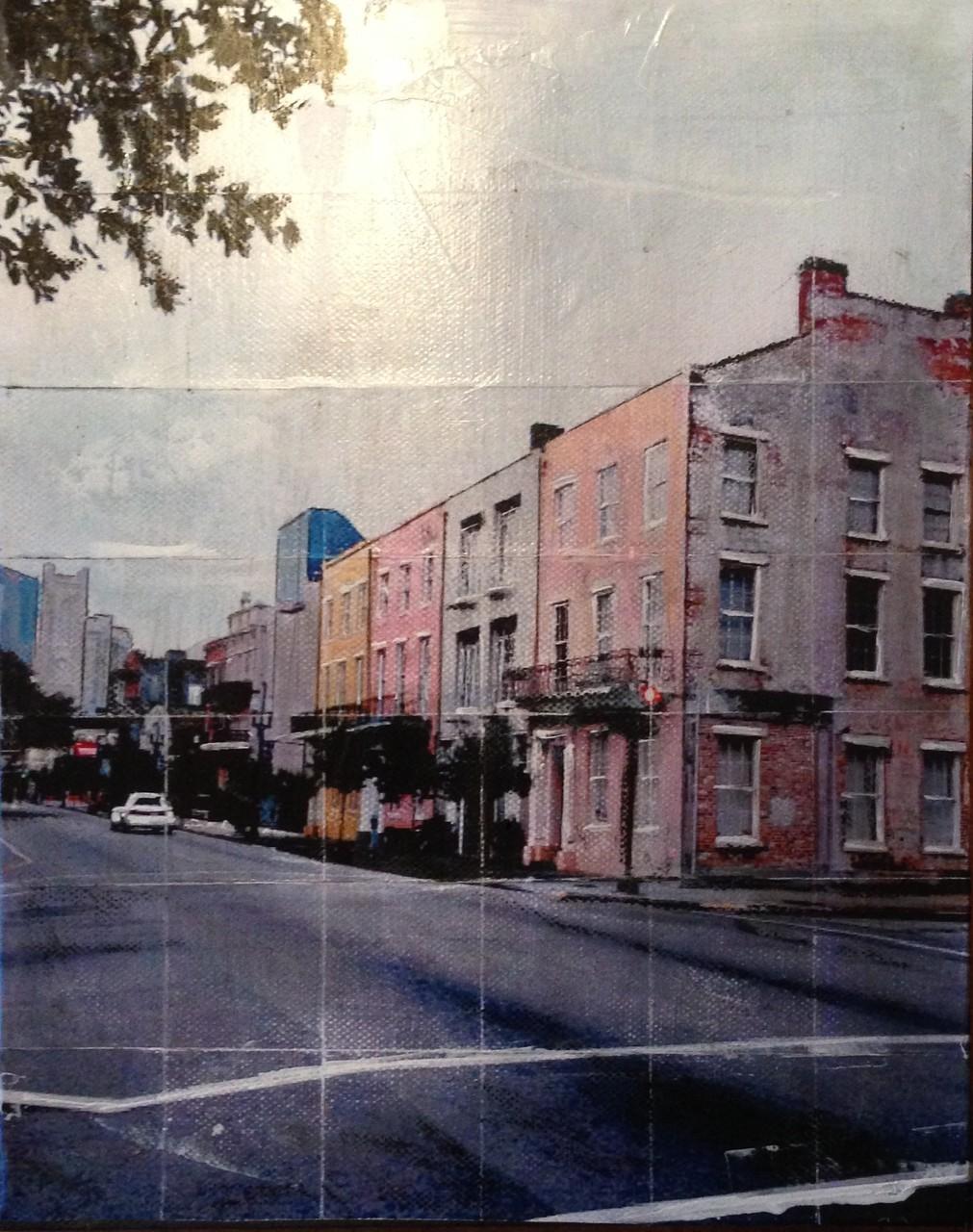New Orleans - Straße (30x40cm)