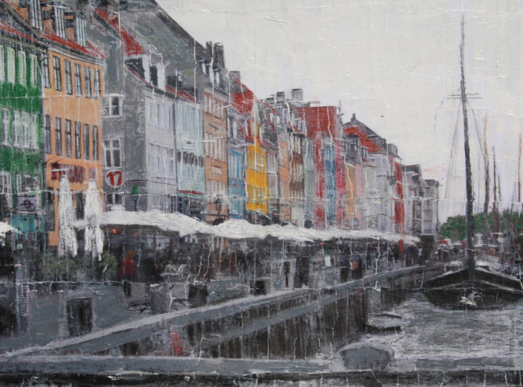 Kopenhagen - Hafen (60x80cm)