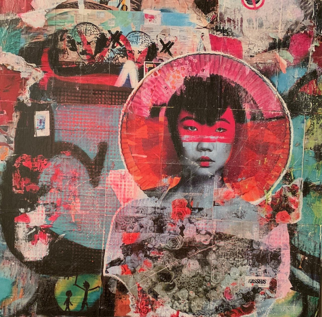 London_China Girl_50x50cm