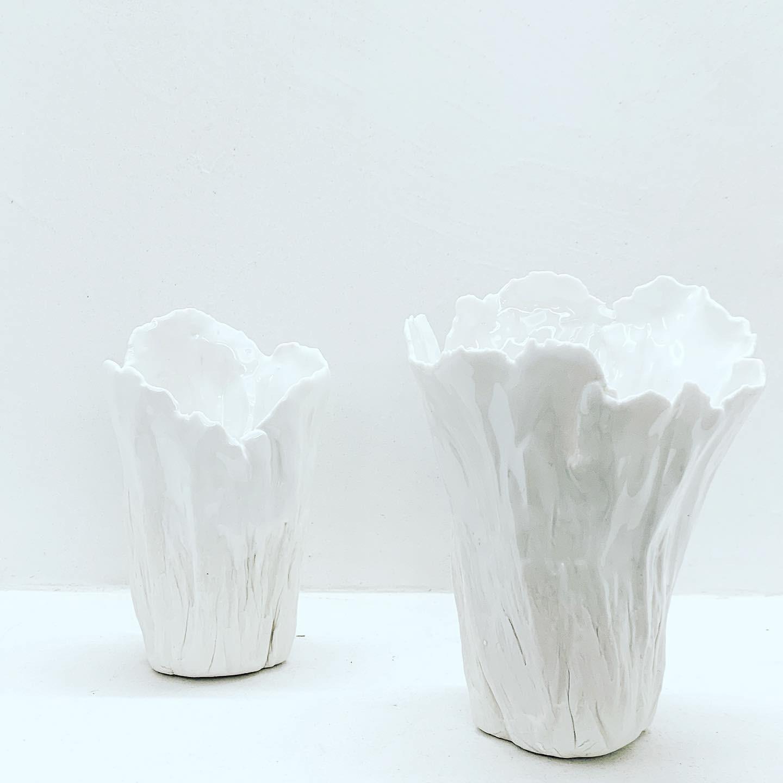 PORCELAINE CLAY - Vases