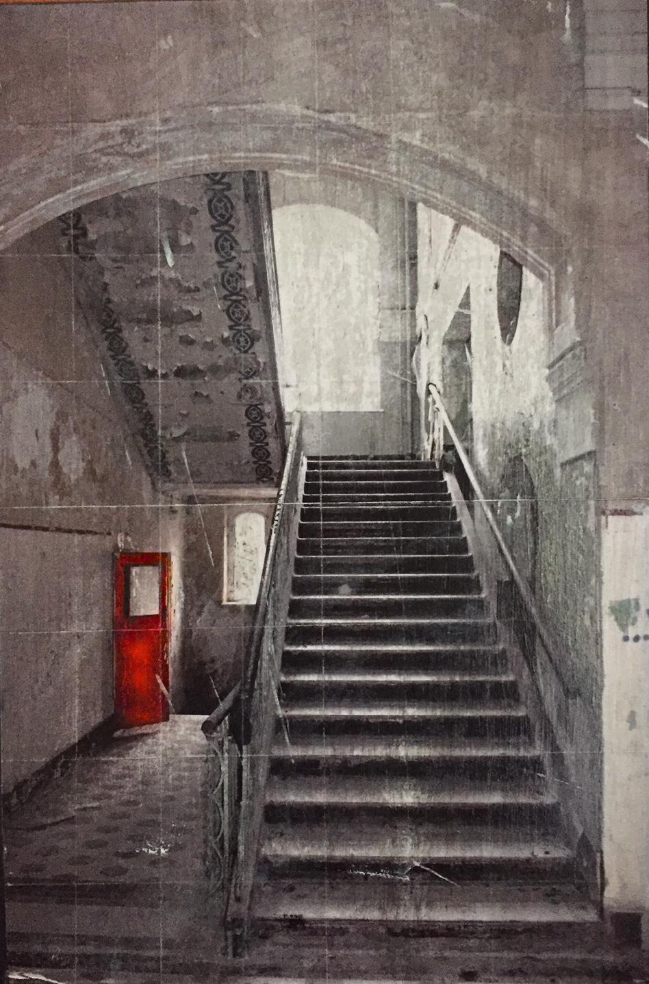 Red Door II_20x30cm
